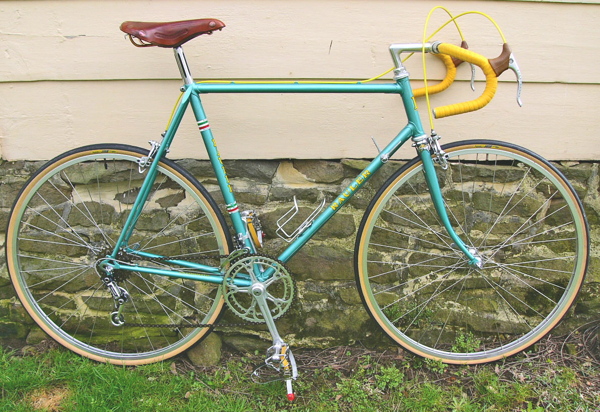 rauler strada road bike 70s columbus