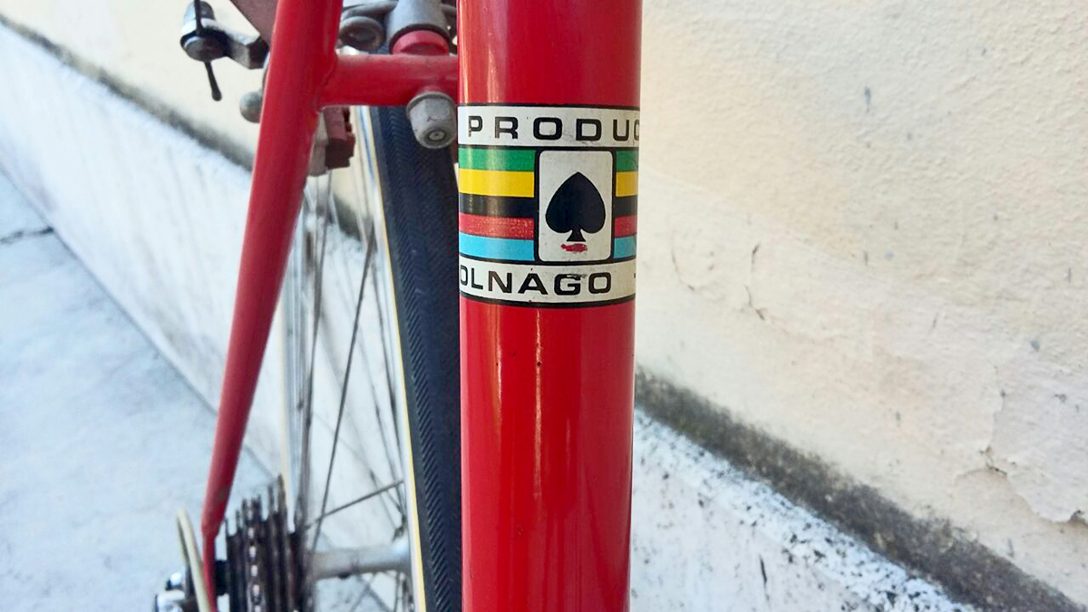 colner colnago road bike logo