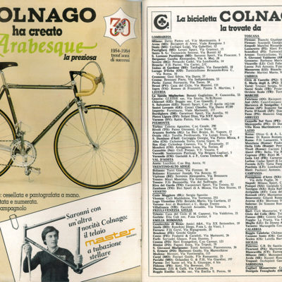 COLNAGO ARABESQUE