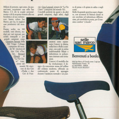 SELLE SAN MARCO 80s
